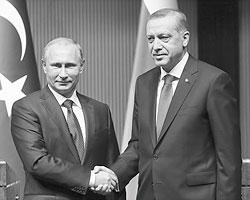 Владимир Путин и Реджеп Тайип Эрдоган(Фото: Михаил Метцель/ТАСС)