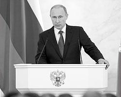 Фактически русский национализм провозглашен российской государственной идеологией (Фото: Михаил Метцель/ТАСС)