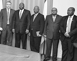Глава Республики Крым Сергей Аксенов провел встречу с делегацией Республики Зимбабве (фото: rk.gov.ru)