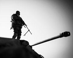 Пунктом возможного контрудара может стать северо-западный фас линии фронта у Дебальцево, где при грамотном командовании можно организовать второй Иловайский котел (Фото: Станислав Красильников/ТАСС)