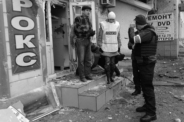 На место трагедии прибыли наблюдатели ОБСЕ