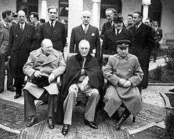 США хотели обойтись в ООН и без британцев, поделив голоса на двоих, но Иосиф Сталин категорически возразил (Фото: РИА