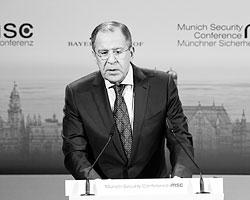 Лавров на разные лады говорил одну простую вещь. Россия не считает себя проигравшей в холодной войне и не согласна себя вести, как ведет себя проигравшая сторона (Фото: Reuters)