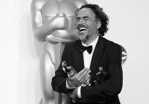 Алехандро Гонсалес Иньярриту не мог скрыть своей радости. Он был признан создателем лучшего фильма. Кроме того, «Бёрдмен» получил премии за оригинальный сценарий и операторскую работу