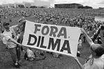 Больше миллиона бразильцев вышли на общенациональные демонстрации с требованиями об объявлении импичмента президенту Дилме Руссефф. Акции протеста проходили на фоне ухудшения экономической ситуации в стране, а также крупного коррупционного скандала вокруг государственной нефтяной компании Petrobras.  (фото: Reuters)