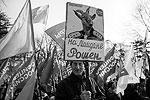 Участники акции «воздали должное» и киевскому режиму. Отметим, что с критикой послемайданных украинских властей и в поддержку воссоединения Крыма с Россией выступили и представители крымско-татарской общины. Ставка Киева на провоцирование межэтнической розни не оправдала себя (фото: Reuters)