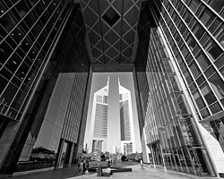 Глейзер утверждает, что небоскребы не мешают «балету на улице» (Фото: Omr Mohamed/Reuters)