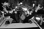 Иранцы ликуют: впервые за 12 лет достигнут существенный прогресс на переговорах по ядерному вопросу. Жители страны устроили на улицах массовые демонстрации сразу же, как только узнали о результатах – в ночь со 2 на 3 апреля (фото: ABEDIN TAHERKENAREH/EPA/ТАСС)