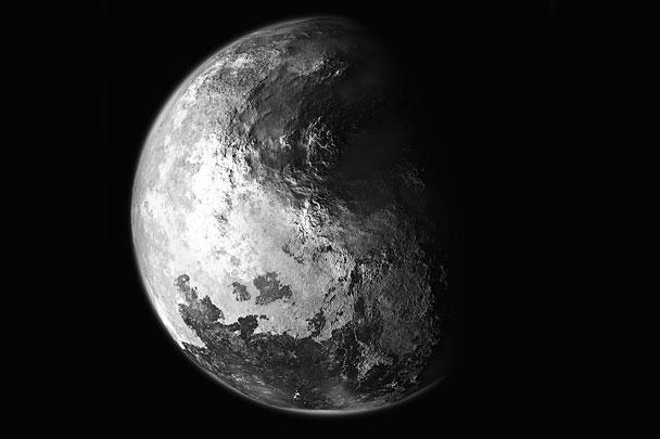 Художники достоверно передали изображение со снимков Плутона