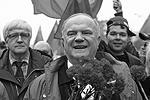 Не скрывал хорошего настроения в пятницу лидер российских коммунистов Геннадий Зюганов (фото: Станислав Красильников/ТАСС)