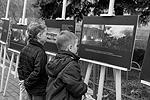 Акция памяти о произошедшей год назад трагедии прошла в Москве. Она была организована Союзом политэмигрантов и политзаключенных Украины возле посольства Украины в Москве (фото: Вороширин Дмитрий)