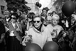 """Акция, в которой приняли участие порядка 1 тыс. человек, закончилась минутой молчания (фото: Илья Питалев/РИА """"Новости"""")"""