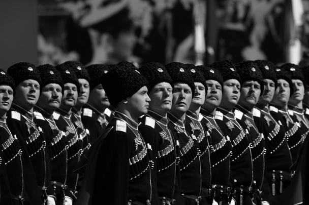 Было там и соединение кубанских казаков – во время самого знаменитого Парада Победы в июне 1945 года казаки также проходили по Красной площади
