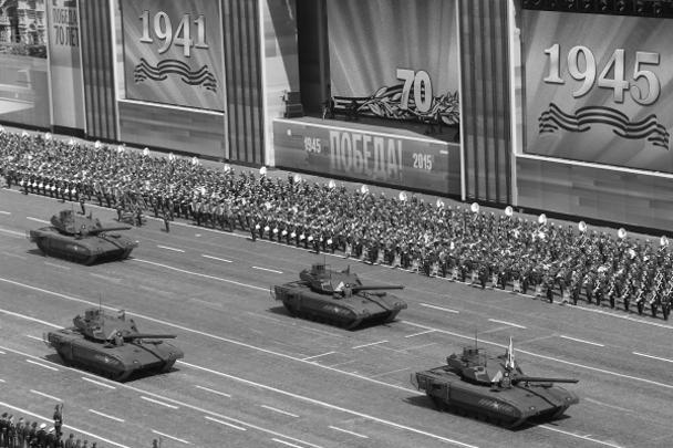 Подлинной «звездой парада» Agence France-Presse называет новейший российский танк «Армата». Французское агентство отмечает, что специалисты считают его «самым мощным штурмовым танком в мире». «Этот первый танк, разработанный Россией после распада СССР», – подчеркивает агентство