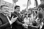 Бывший президент Грузии Михаил Саакашвили, назначенный губернатором Одесской области, считает, что из Одессы можно сделать «столицу всего Черного моря» и «всемирное чудо» (фото: Николай Лазаренко/пресс-служба президента Украины/ТАСС)