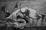 Открытие Игр прошло с национальным колоритом: зрители увидели театрализованное представление в национальном стиле. Все выступления рассказывали об истории Азербайджана (фото: Михаил Джапаридзе/ТАСС)