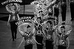 На сцену Олимпийского стадиона выходили также девушки, каждая из которых символизировала представленную на соревнованиях страну (фото: Михаил Джапаридзе/ТАСС)