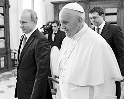 Обмен подарками с Путиным – не знак одобрения или порицания (фото: Alexei Nikolsky/RIA Novosti/Kremlin/Reuters)