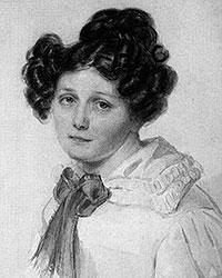 Прасковья Егоровна Анненкова, жена декабриста Ивана Александровича Анненкова (Фото: Пётр Фёдорович Соколов/Wikipedia)
