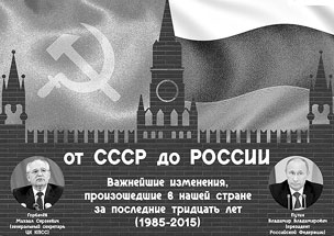 От СССР до России: как наша страна изменилась за тридцать лет