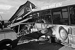 В момент аварии в автобусе находились 22 работника птицефабрики, 16 из них погибли (фото: 55.mvd.ru)
