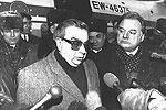 Министр иностранных дел России Евгений Примаков прибыл в столицу Укрaины с официальным визитом, 1996 год (фото: Самохоцкий/ТАСС)