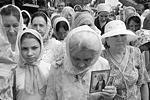 Участники крестного хода и торжественной литургии в День крещения Руси в Краснодаре (фото: Николай Хижняк/РИА «Новости»)