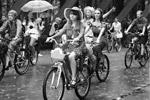 Это уже третий велопарад «Леди на велосипеде», организованный в Москве (фото: Михаил Метцель/ТАСС)