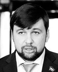 Полпред ДНР Денис Пушилин(фото: Виктор Драчев/ТАСС)