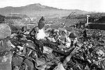 Удар по Нагасаки США нанесли 9 августа. Спустя шесть месяцев он все еще был в руинах: остатки разрушенных домов и религиозных сооружений некому было разобрать (фото: Cpl. Lynn P. Walker, Jr. (Marine Corps))