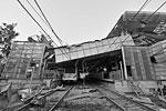 В результате взрыва и пожара повреждено множество объектов инфраструктуры (фото: Yue Yuewei/Zuma/ТАСС)