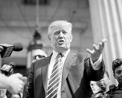 Трамп ломает матрицу (фото: Brendan McDermid/Reuters)