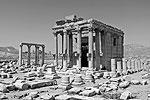 Первый утраченный от деятельности исламистов памятник – храм финикийского бога Баал-Шамина в Пальмире (фото: Bernard Gagnon/wikipedia.org)