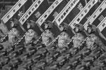 По словам китайского лидера Си Цзиньпина, победа народа в войне сопротивления японской агрессии «открыла широкие перспективы для дела возрождения китайской нации» (фото: Stringer China/Reuters)