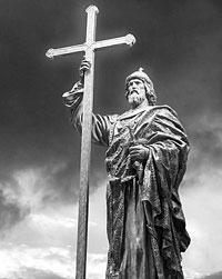 Памятник князю Владимиру, осеняющий град Москву крестом, будет воздвигнут на Боровицкой (фото: dar.histrf.ru)