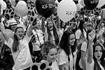 Встретить «тигриное шествие» на центральной площади Владивостока пришли более 15 тысяч гостей и жителей города (фото: Виталий Аньков/РИА «Новости»)