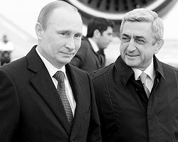 И как Армении выгодна сильная и успешная Россия, так и России – сильная и процветающая Армения (фото: Алексей Никольский/ТАСС)