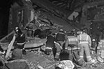 На месте ЧП продолжаются поисково-спасательные работы (фото: Пресс-служба Дальневосточного регионального центра МЧС России/ТАСС)