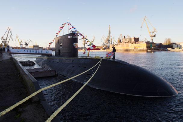 подводная лодка краснодар столкнулась
