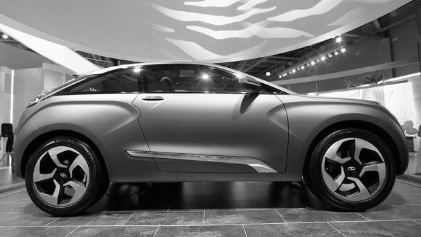 Таким был концепт, представленный в 2012 году на Московском международном автосалоне