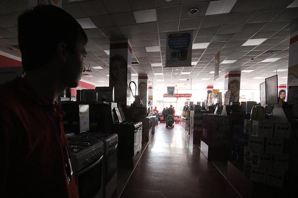 Свет погас в магазинах и на предприятиях. В Крыму введен особый порядок пользования электричеством