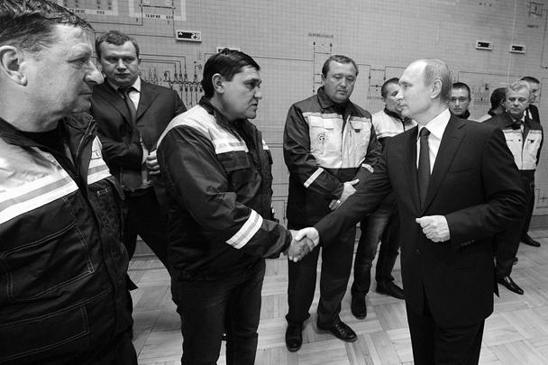 Владимир Путин на открытии энергомоста в Симферополе