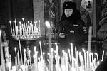 Богослужение в честь праздника Рождества Христова в Свято-Троицком кафедральном соборе в Екатеринбурге (фото: Павел Лисицын/РИА Новости)