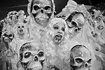 Участники карнавала в Рио – страшно красивые (фото: Andre Penner/AP/ТАСС)