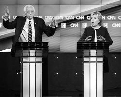 Самая большая интрига этих праймериз – соперничество демократов (фото: Josh Haner/NYT/Zuma/Global Look Press)