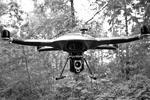 На выставке представлен проект многофункционального воздушного робототехнического комплекса, в который входят робот-вертолет, коптер-наблюдатель, коптер-разведчик и ударный мультикоптер с гранатометным модулем (фото: Пресс-служба АО «Объединенная приборостроительная корпорация»)