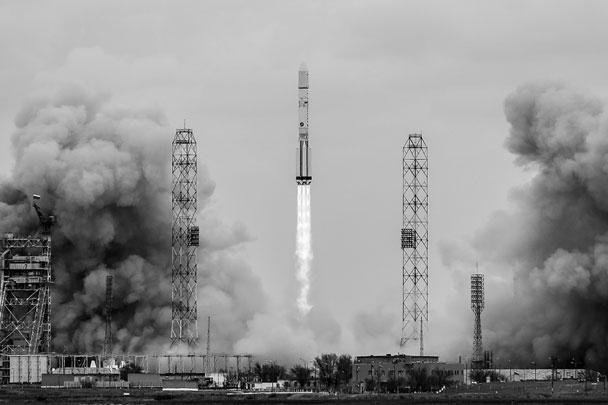 Ракета-носитель «Протон-М» стартовала в 12.31 14 марта по московскому времени