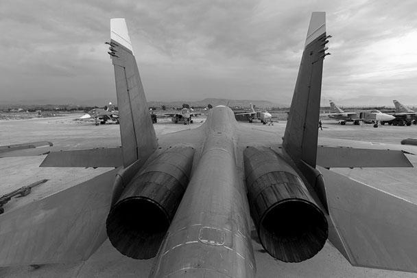 ВКС России выводят с Ближнего Востока самолеты нескольких типов: бомбардировщики Су-24, штурмовики Су-25 и многоцелевые самолеты Су-34 Су-34