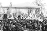 Концерт, посвященный годовщине референдума, прошел в самых разных частях России. Несколько тысяч человек приветствовали крымчан в Башкирии (фото: фото предоставлено организатором акции)