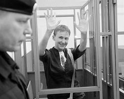 Все заметили её скоморошничество и демонстративное поведение(фото: Ivan Sekretarev/AP/ТАСС)